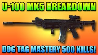 Battlefield 4 U-100 Review & Master Dog Tag | BF4 LMG Gameplay