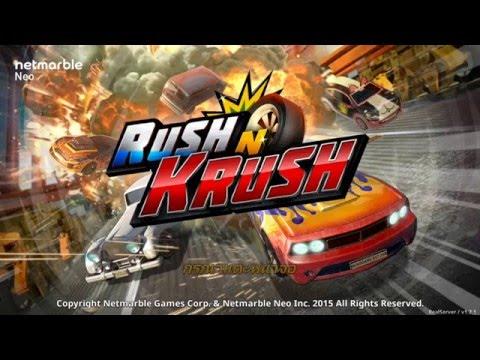 Review รีวิว Rush N Krush เกมแข่งรถ สุดเร้าใจ น้องใหม่จาก Netmarble ( เกมส์มือถือ )