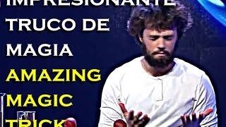 impresionante truco de magia de yann frisch amazing magic trick