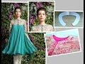 Peter Pan Collar Drafting, Cutting & Stitching Churidar, Sari Blouses, Dresses- Simple & Easy Making