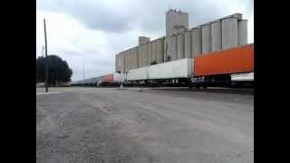 BNSF Eastbound Stack Train Woodward Oklahoma
