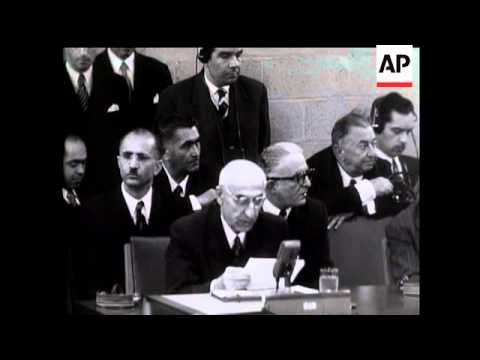 MOSSADEQ AT SECURITY COUNCIL