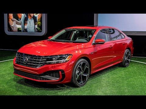 2020 VW Passat unveiled at Detroit Auto Show 2019