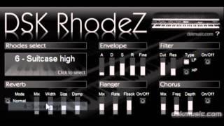 DSK RhodeZ - Free VST