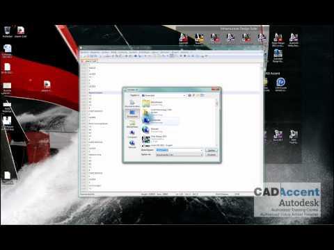 Error in dxf file bij het openen in AutoCAD 2013