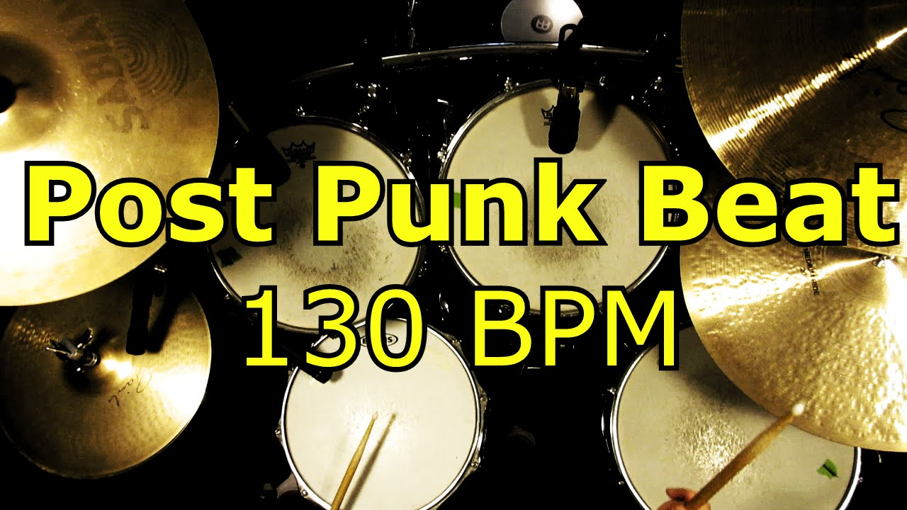 backing track post punk beat 130 bpm drums only youtube. Black Bedroom Furniture Sets. Home Design Ideas