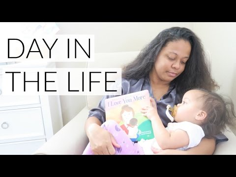STAY AT HOME MOM: DAY IN THE LIFE