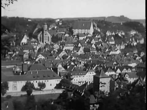 Schwäbisch Hall 1944 / Feuerzangenbowle - YouTube