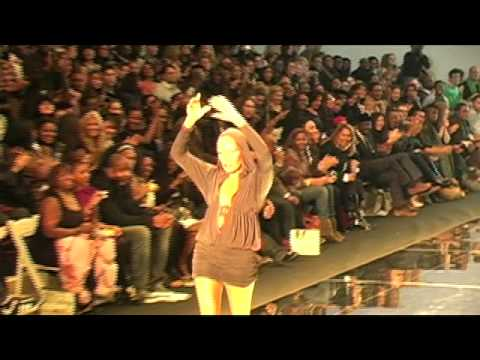 Grace Jones @ African Fashion Collective Fall 2009