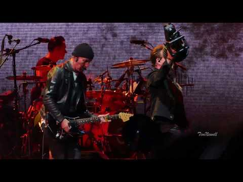 U2 Bullet The Blue Sky , 4K, KILLER AUDIO  Soldier Field, Chicago  June 3rd, 2017