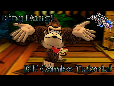 Smash 4 DK Combo Tutorial - The Ding Dong