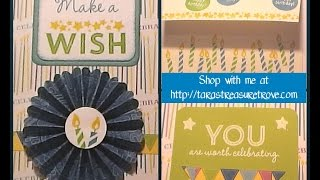 Birthday Card - Candles and Confetti Wishes | CTMH