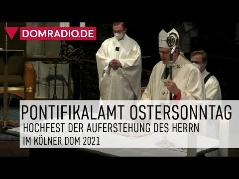 Pontifikalamt zu Ostern