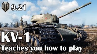 World of Tanks: KV-1 teaches you how to play