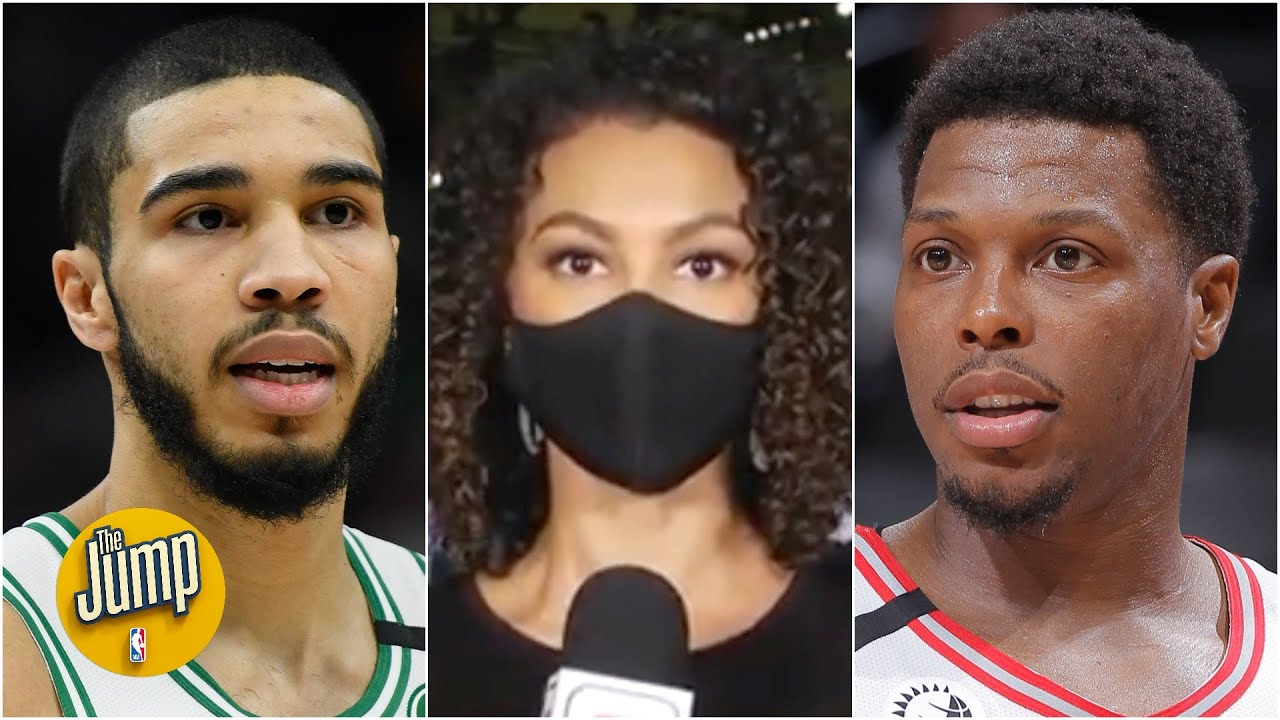 The Celtics & Raptors meet to discuss boycotting Game 1 in the fight for social justice | The Jump