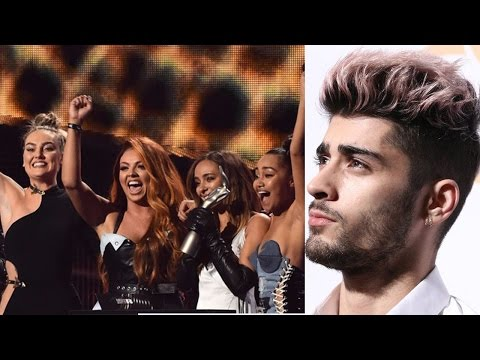 Little Mix and Perrie Edwards Shout Out Ex Zayn Malik in 2017 Brit Awards Acceptance Speech