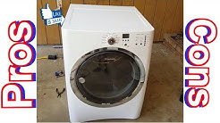 Electrolux dryer review by a repair man pros and cons.