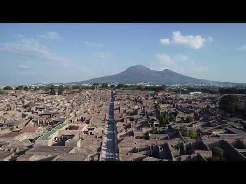 Pompei Oggi: video ripreso da un drone
