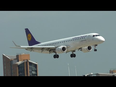 Evening Rush Hour Planespotting at London City Airport 22/07/16 - Part 1