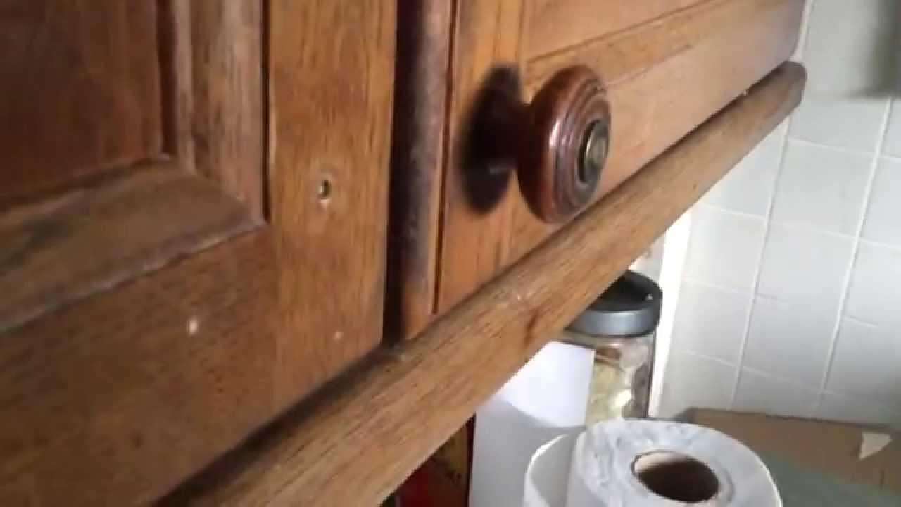 Door Handles For Kitchen Units Fix Kitchen Cupboard Door Handle Youtube