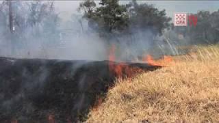 Churchill Park Bushfire (Endeavour Hills) 30/01/09