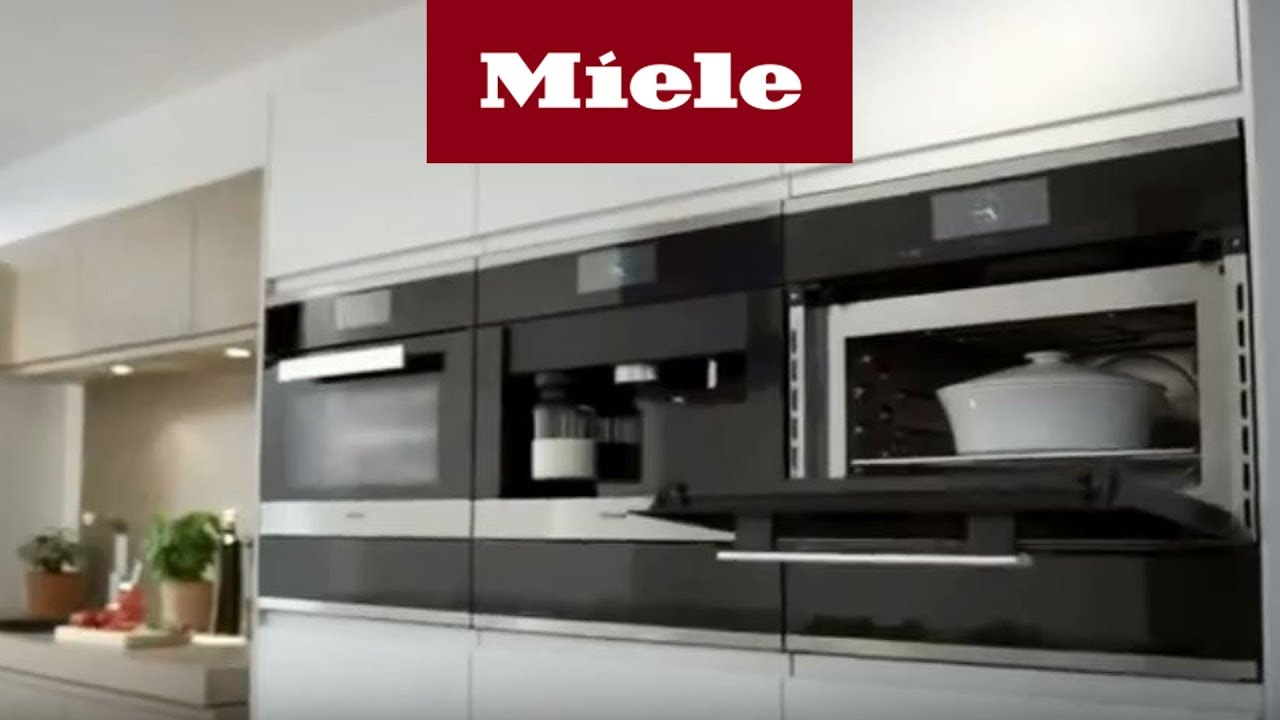 backofen mit mikrowelle die perfekte k chen kombination miele youtube. Black Bedroom Furniture Sets. Home Design Ideas