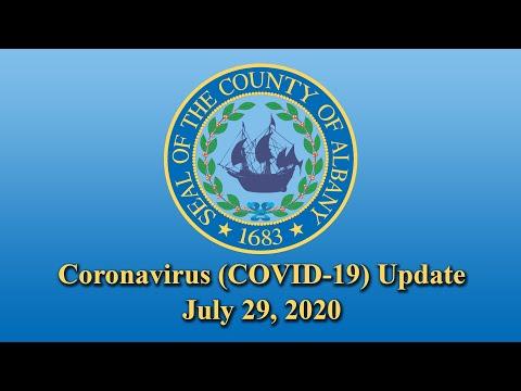 Coronavirus (COVID-19) Update (July 29, 2020)
