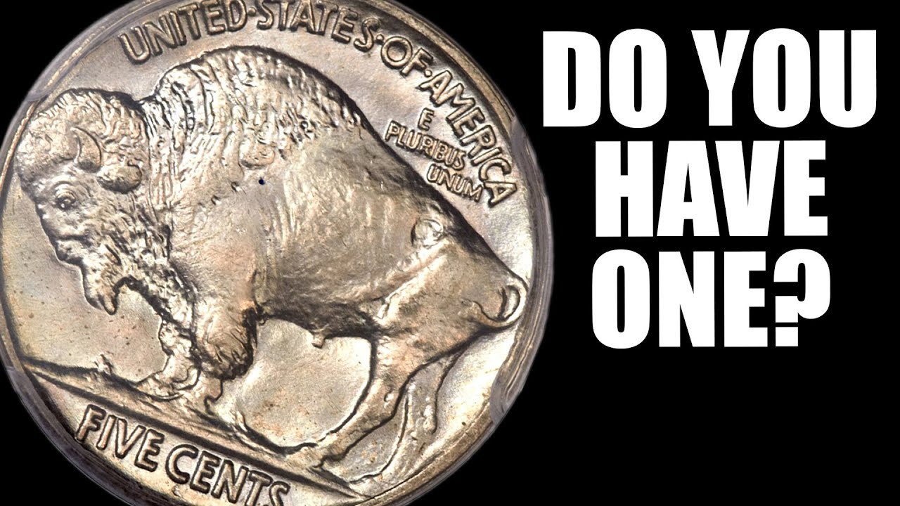 $10,000 Buffalo Nickel!! Which Coins are Worth A LOT of MONEY!!