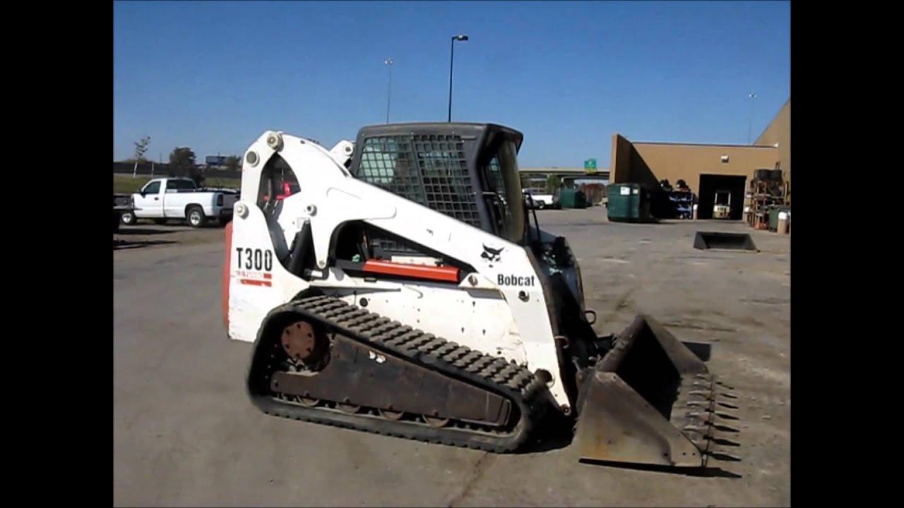 Bobcat T300 Turbo Track Skid Steer Demo