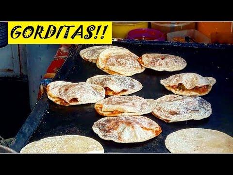 AMAZING MEXICAN STREET FOOD GORDITAS