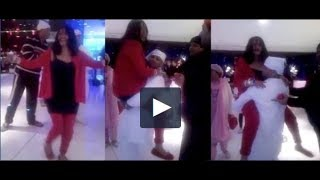 This leaked video of radhe maa dancing on a devotee's lap is going viral