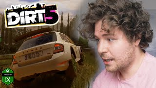 Is this a MOBILE game?? - Dirt 5 on Xbox Series X // Game Engine Developer Reacts