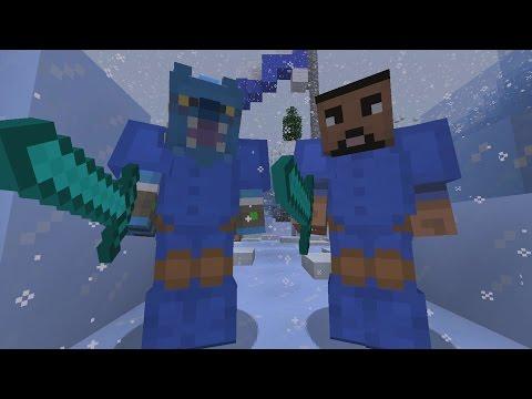 Minecraft XBOX - Glacier - 2v2 Team SkyWars