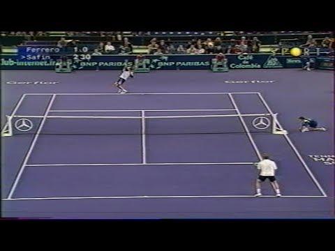 ATP Paris Bercy 2000 Ferrero vs Safin SF