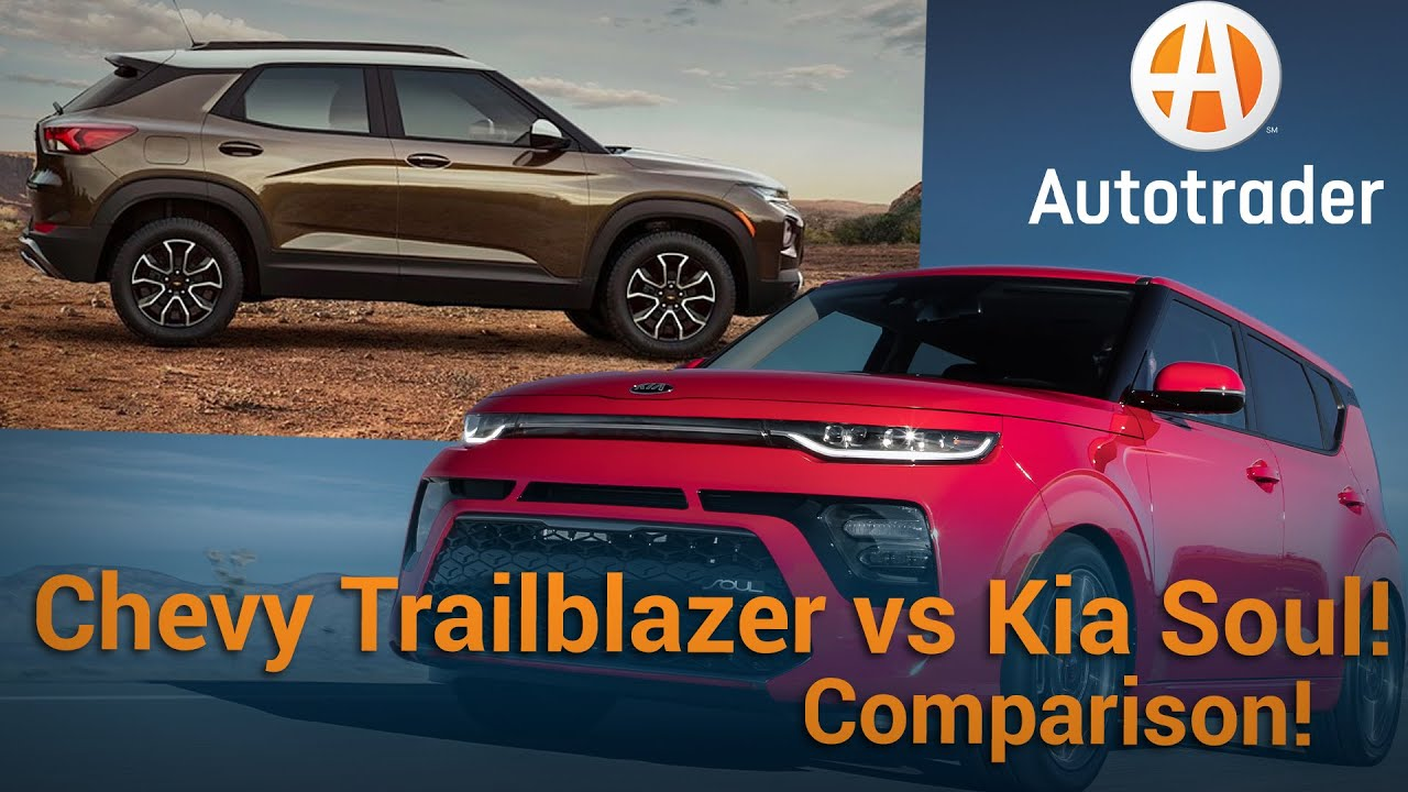 2021 Kia Soul vs 2021 Chevy Trailblazer | Comparison