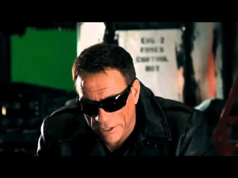 Van Damme & Stallone - Interview about the fight in The Expendables 2