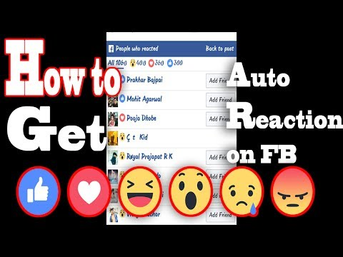 | No app | Get 1000+ Auto Reaction on FACEBOOK 100% Secure