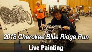Motorcycle Art part 78 / 2018 Cherokee Blue Ridge Run