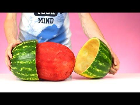 Wassermelone Schneiden Youtube
