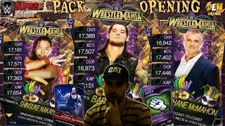 WWE SUPERCARD !PACK OPENING  WRESTLEMANIA 34! На русском