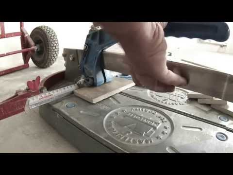 мозаика из обрезков плитки