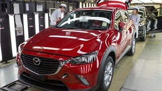 First-Ever Mazda CX-3 production line in Japan