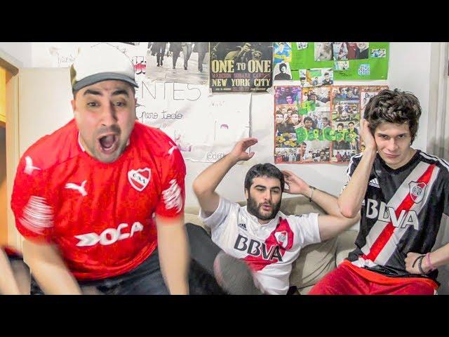 Independiente 1 River 0 | Superliga 2017 | Reacciones Amigos