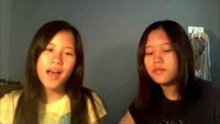 Wish You Were acoustic cover by Valerie and Danielle