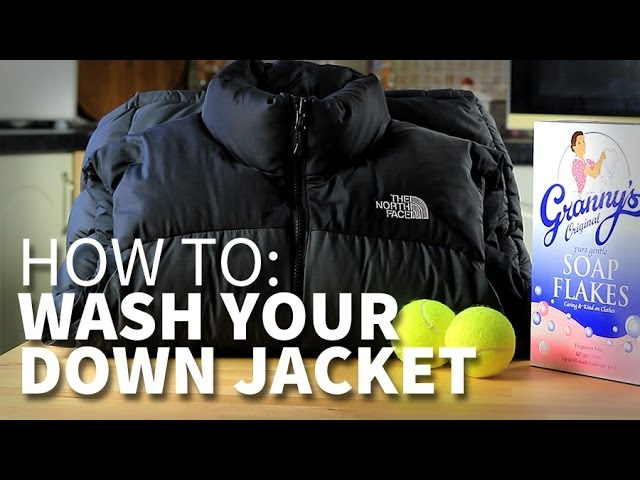 9b23067ef8 How to wash your hiking down jacket without ruining the feather fill. -  YouTube