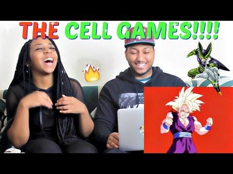 DragonBall Z Abridged: Episode 57 - #CellGames | TeamFourStar  REACTION!!!!