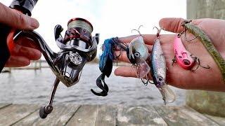 Catching BIG Winter Bass from PRESSURED Water! (Bank Fishing Tutorial)