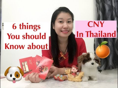 Learn Thai fast with Waree - 6 things you should know about Chinese New Year in Thailand วันตรุษจีน