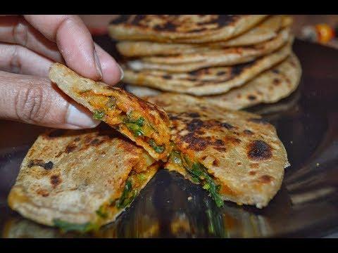 मेथी आलू के पराठे अपने इस तरह बनके कभी नहीं खाये होंगे - Stuffed Aloo Methi Paratha