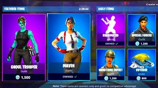 *NEW* DAILY ITEM SHOP UPDATE - JANUARY 8th - MORE NEW SKINS - Fortnite Battle Royale